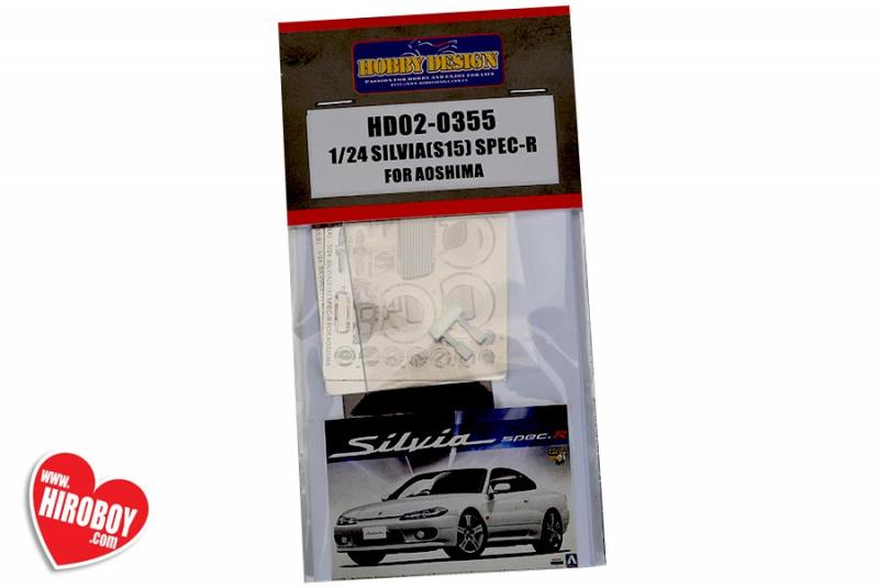 1:24 Nissan Silvia (S15) SPEC-R For Aoshima 008690(PE+Resin)