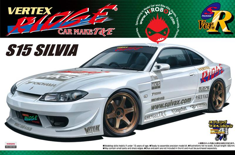 "1:24 Nissan Silvia S15 ""Vertex Ridge"" Version"