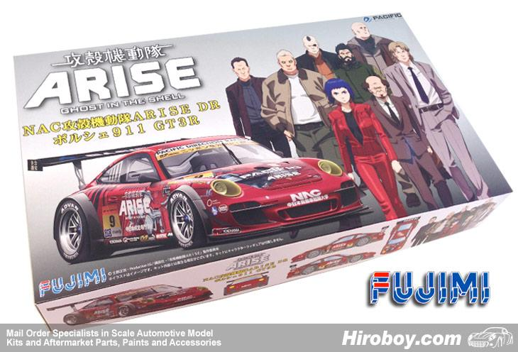 1:24 Porsche 911 GT3R - NAC Ghost in the Shell Arise DR