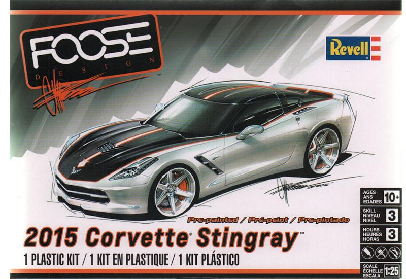 1:25 Foose Design - 2015 Corvette Stingray