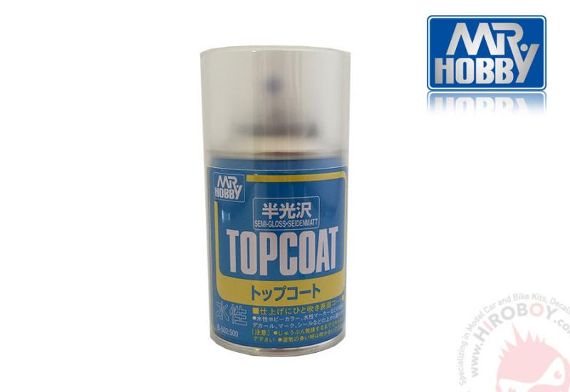 Mr Topcoat Semi-Gloss (86ml)