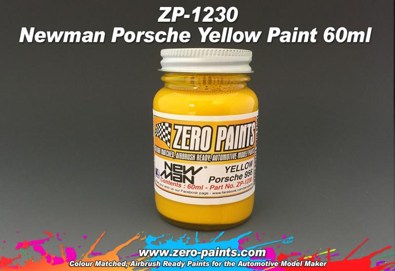 Newman Porsche Yellow Paint 60ml