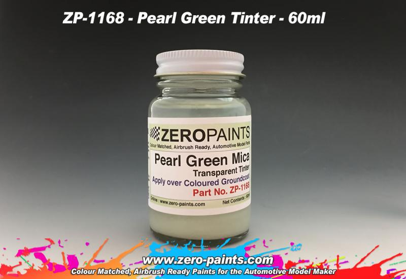 Pearl Green Mica Transparent Tinter Paint 60ml