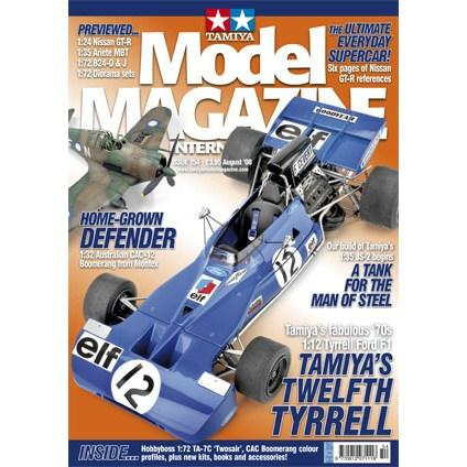 Tamiya Model Magazine - #154 (Tyrrell 003)