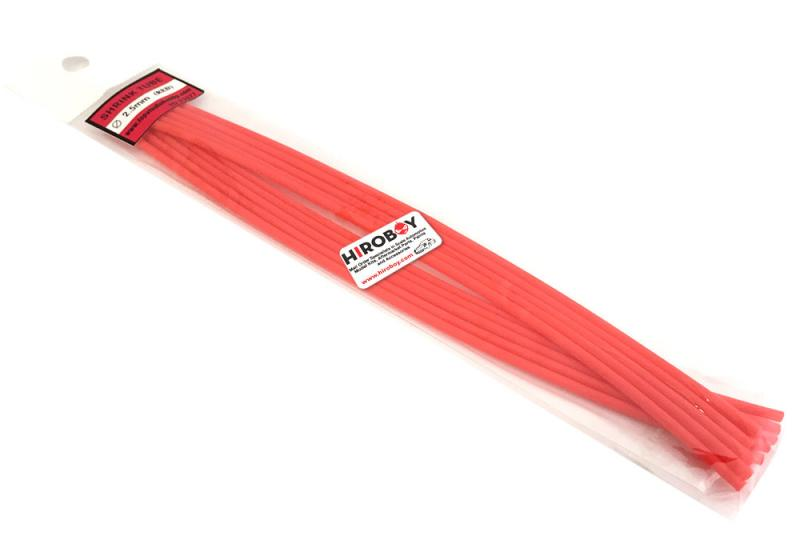2.5mm Shrink Tubing RED - 10 off