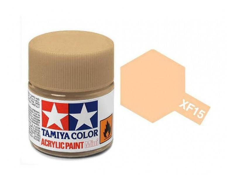 Tamiya Acrylic Mini XF-15 Flat Flesh - 10ml Jar