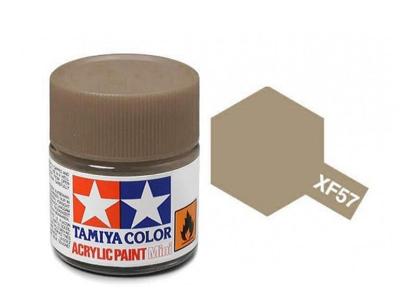 Tamiya Acrylic Mini XF-57 Buff - 10ml Jar