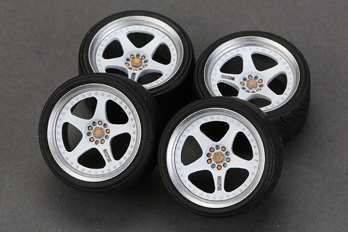 "1:24 18"" Nismo LMGT2 Wheels for Nissan GT-R 