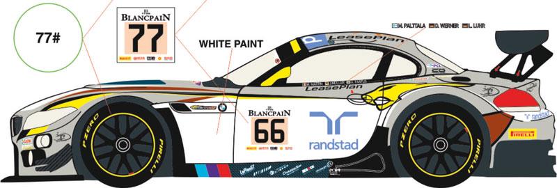 1 24 Bmw Z4 Gt3 66 77 24h Spa 2014 Marc Vds Racing