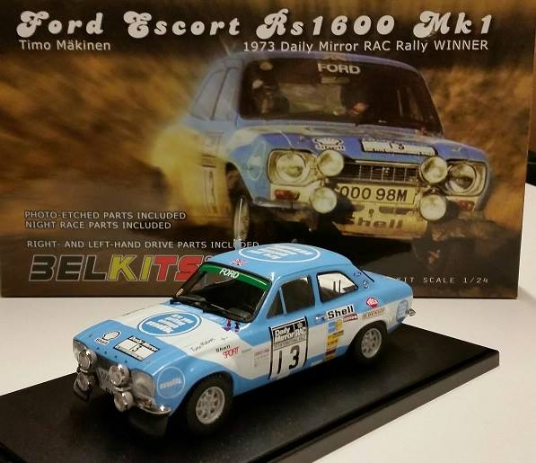 1:24 Ford Escort RS1600 MK1 Winner Daily Mirror RAC Rally ...