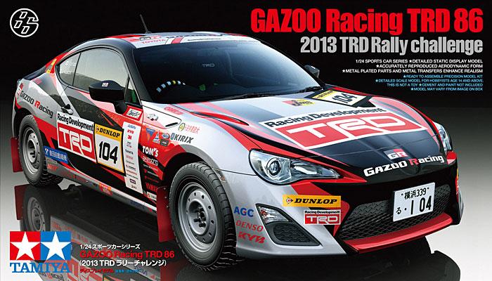 1 24 Gazoo Racing Trd 86 Gt86 2013 Trd Rally Challenge