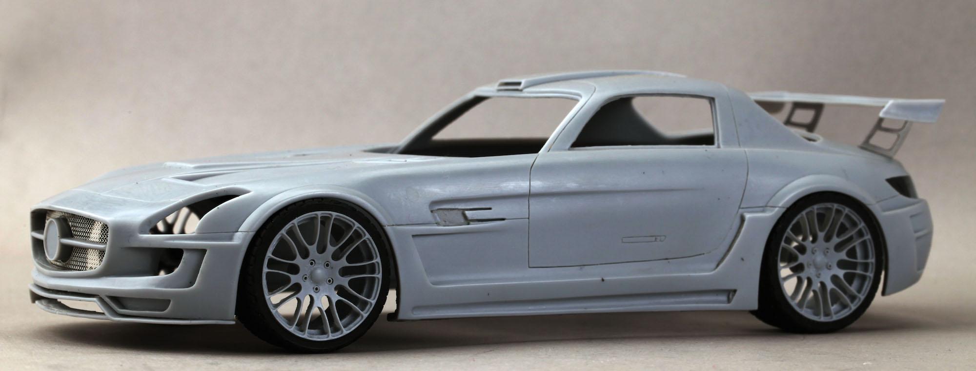 1 24 hamann hawk sls super detail set hd03 0143 hobby for Mercedes benz detailing