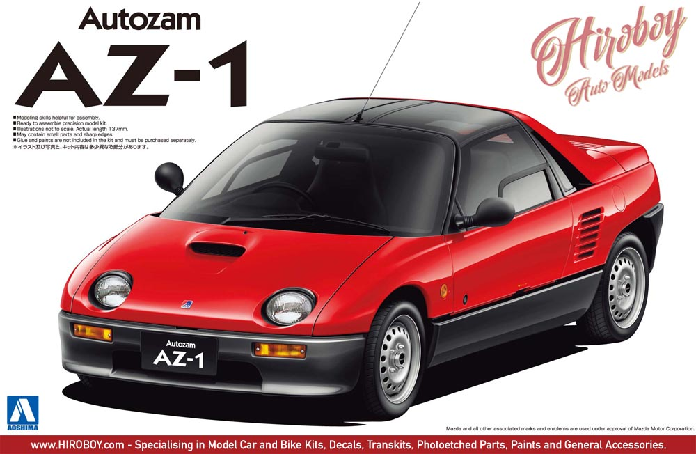 1 24 Mazda Autozam Az 1 Pg6sa Aos 048702 Aoshima
