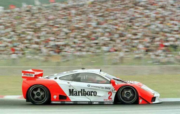 Bmw Mclaren F Gtr Race Car