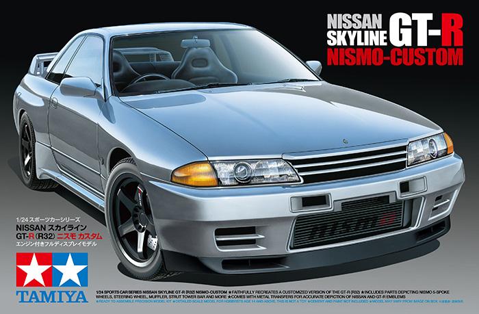 1:24 Nissan Skyline GT-R (R32) Nismo Custom | TAM24341 ...