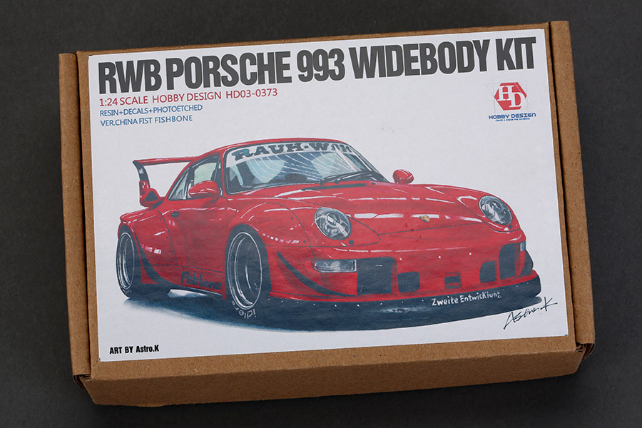 1 24 rwb porsche 993 wide body kit hd03 0373 hobby design. Black Bedroom Furniture Sets. Home Design Ideas