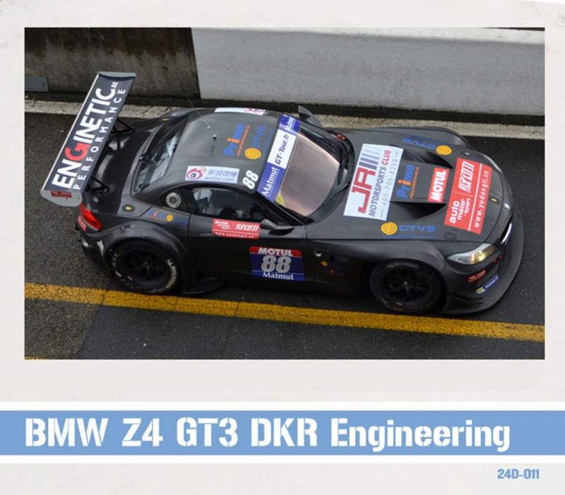 Bmw Z4 Gt3 Price: 1:24 BMW Z4 GT3 DKR Engineering 2013 Decals