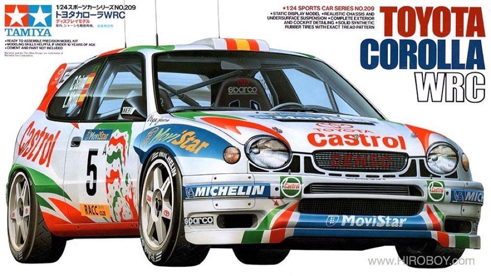 1 24 Toyota Corolla Wrc Castrol 24209 Tam24209 Tamiya