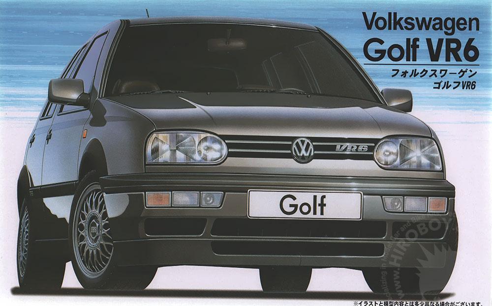1 24 Volkswagen Golf Mk3 Vr6 Fuj 12093 Fujimi