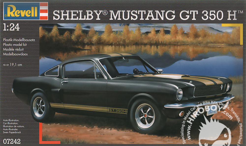 revell 66 shelby gt350h instructions