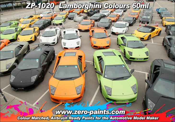 lamborghini paints 60ml zp 1020 zero paints. Black Bedroom Furniture Sets. Home Design Ideas