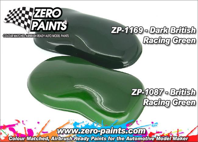 Dark British Racing Green Paint 60ml Zp 1169 Zero Paints