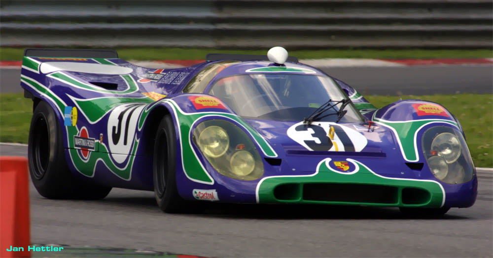 Porsche 917 Purple Quot Hippie Quot Psychedelic Martini Racing