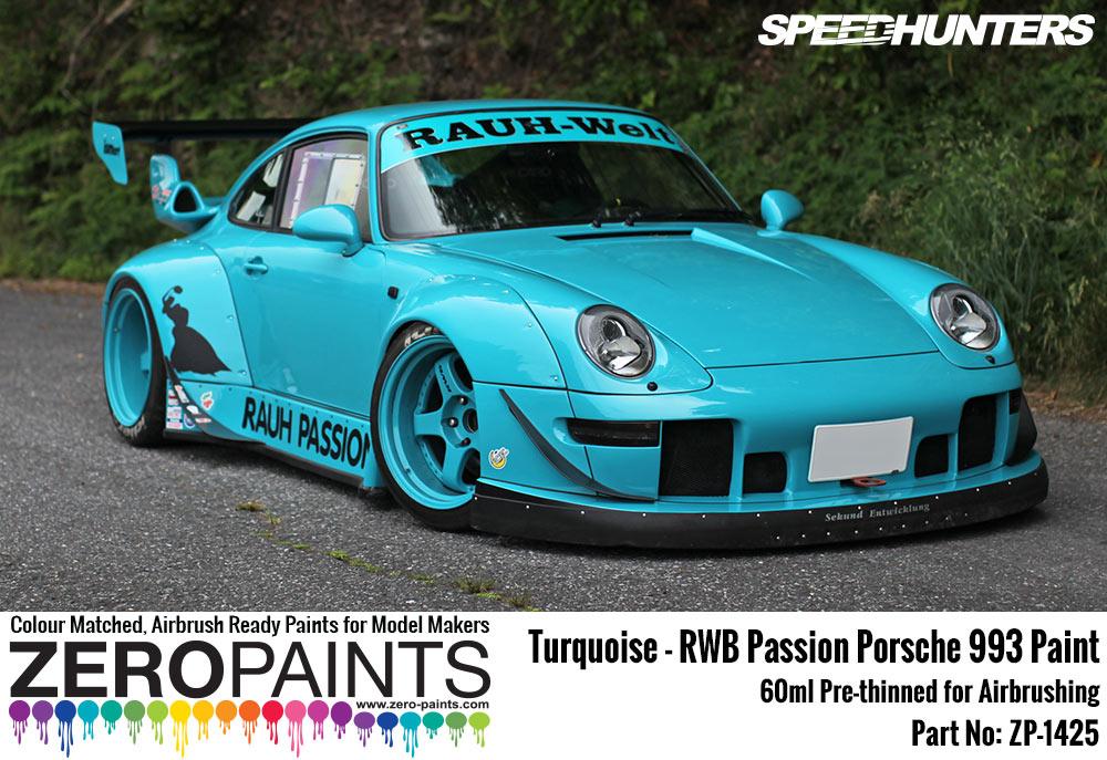 Rwb Rauh Passion Porsche 993 Turquoise Paint 60ml Zp