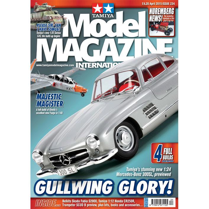 Tamiya model magazine 234 1 24 mercedes benz 300sl for Mercedes benz classic magazine