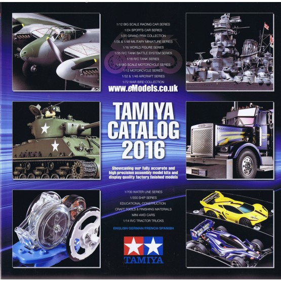 tamiya plastic model catalog 2016 tam64401 tamiya. Black Bedroom Furniture Sets. Home Design Ideas