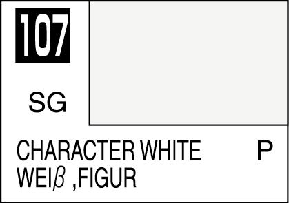 Mr Color Paint Character White 10ml C107 Gsi C 107 Gunze
