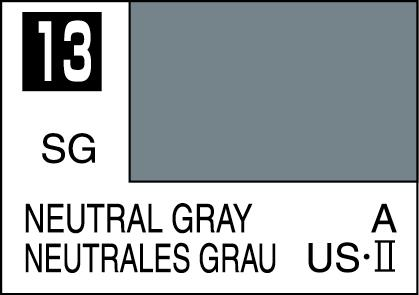 Mr Color Paint Neutral Gray 10ml C013 Gsi C 013 Gunze Sangyo