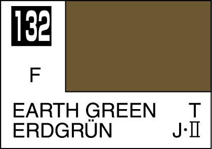 Mr Color Paint Earth Green 10ml C132 Gsi C 132 Gunze Sangyo