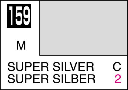 Mr Color Paint Super Silver 10ml C159 Gsi C 159 Gunze Sangyo