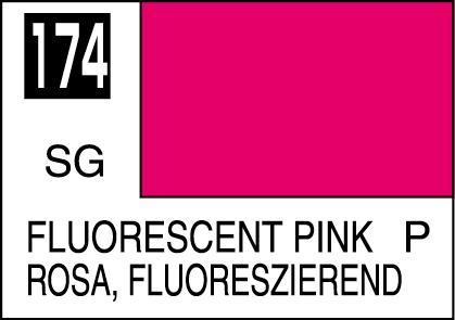 Mr Color Paint Fluorescent Pink 10ml C174 Gsi C 174 Gunze
