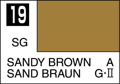 Mr Color Paint Sandy Brown 10ml C019 Gsi C 019 Gunze Sangyo