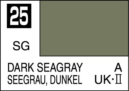 Mr Color Paint Dark Seagray 10ml C025 Gsi C 025 Gunze Sangyo