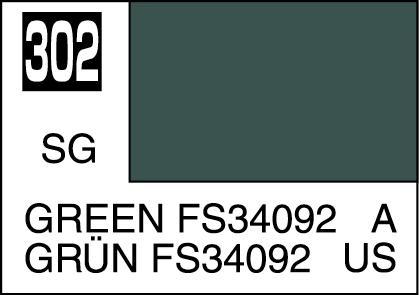 Mr Color Paint Green Fs34092 10ml C302 Gsi C 302 Gunze Sangyo