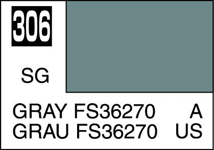 Mr Color Paint Gray Fs36270 10ml C306 Gsi C 306 Gunze Sangyo