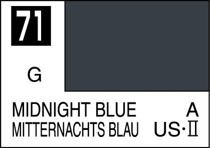 Mr Color Paint Midnight Blue 10ml C071 Gsi C 071 Gunze Sangyo