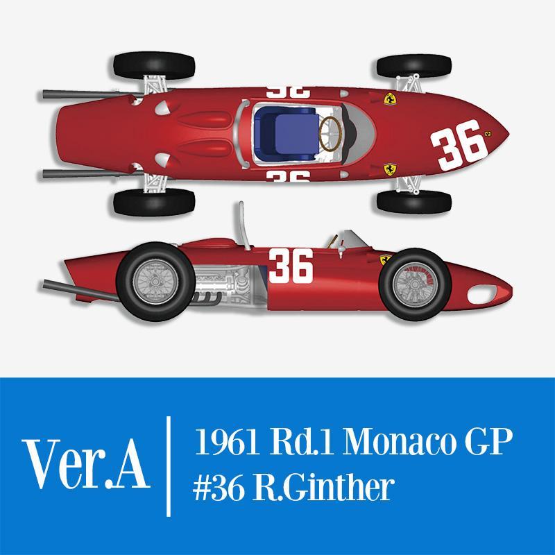 Scale model car 1:43 Ferrari 156 F1 John Surtees Scuderia Ferrari