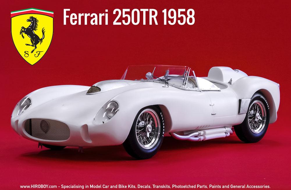 112 Ferrari 250 Tr 1958 Crubside Multi Media Kit