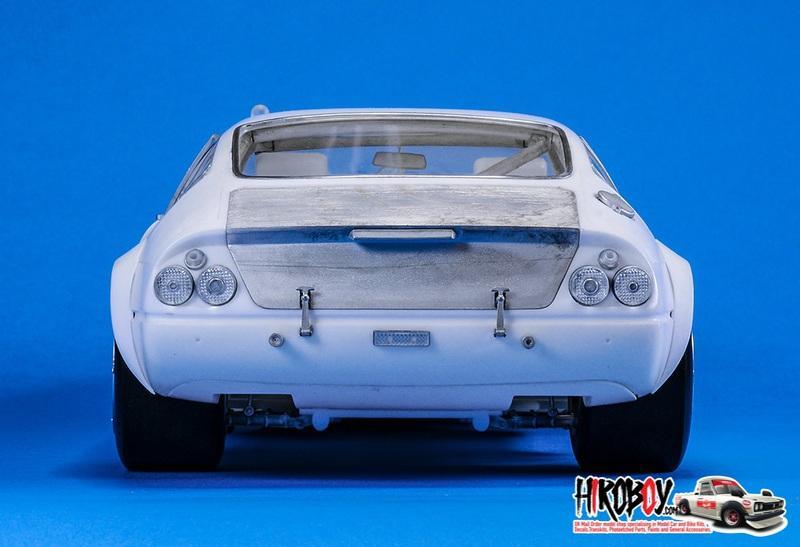 1:12 Ferrari 365 GTB/4 Racing Ver A : 1972 LM 24hours CH POZZI
