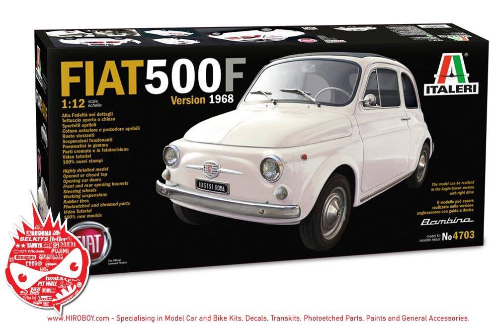 1 12 Fiat 500f Italeri