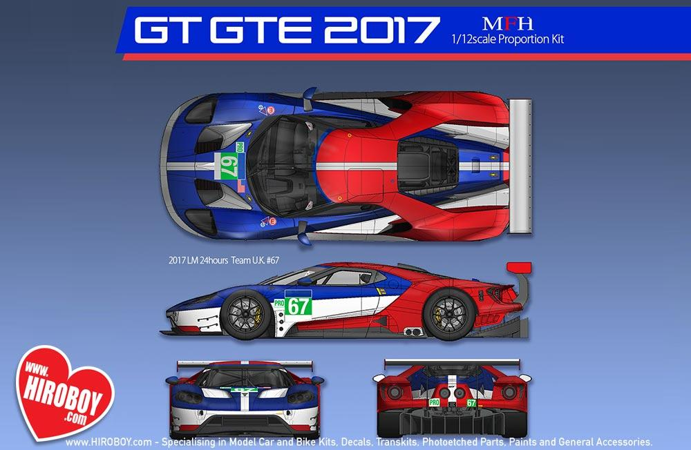 Ford Gt Gte  Le Mans  Hours Race Team U K   Team U S A