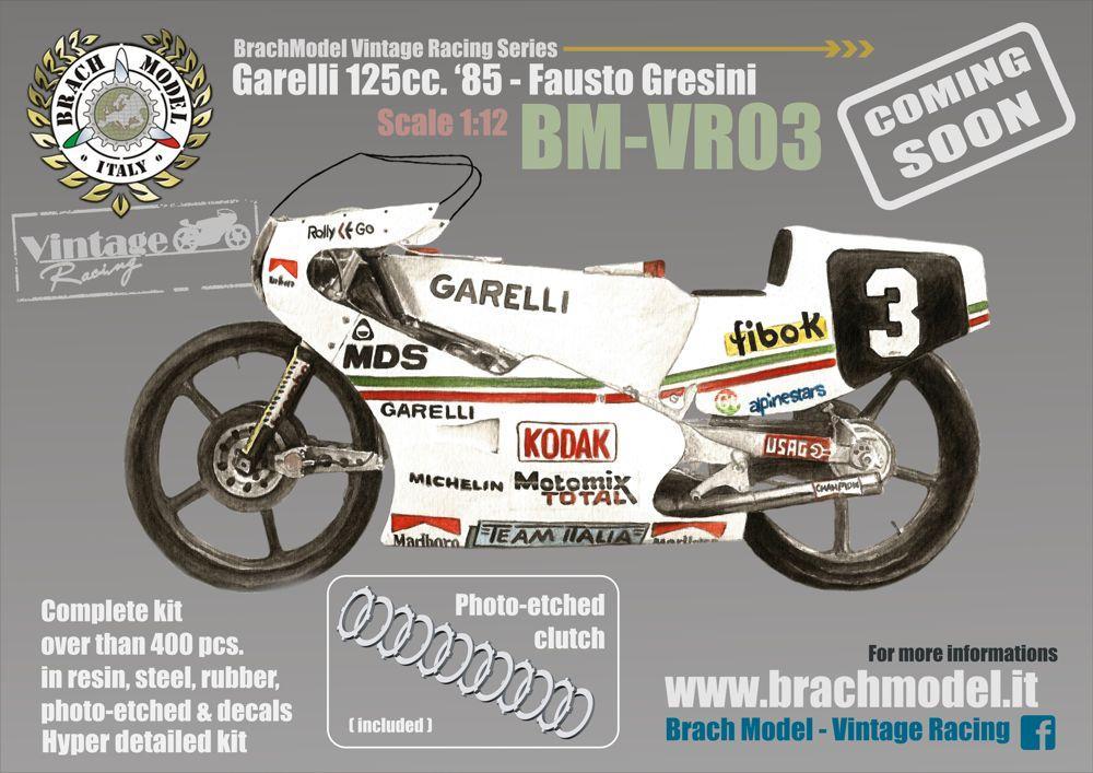 1:12 Garelli 125cc 1985 Fausto Gresini