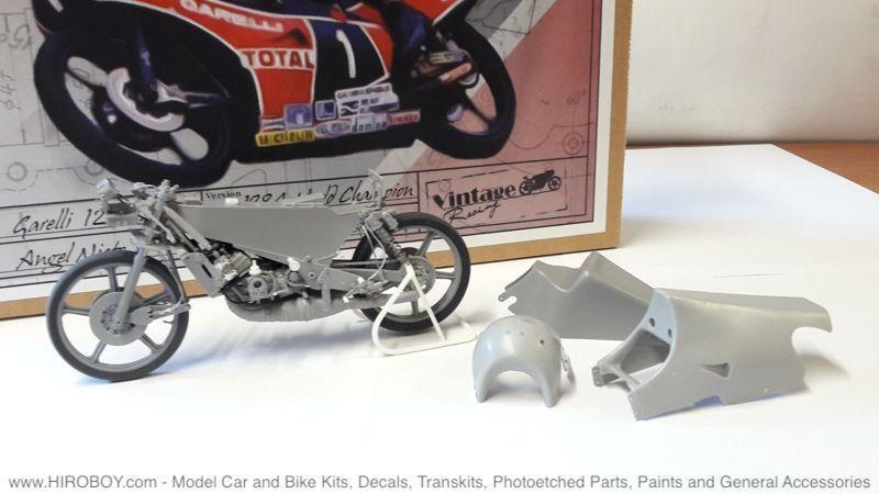 1:12 Garelli 125cc. 1984 Angel Nieto.