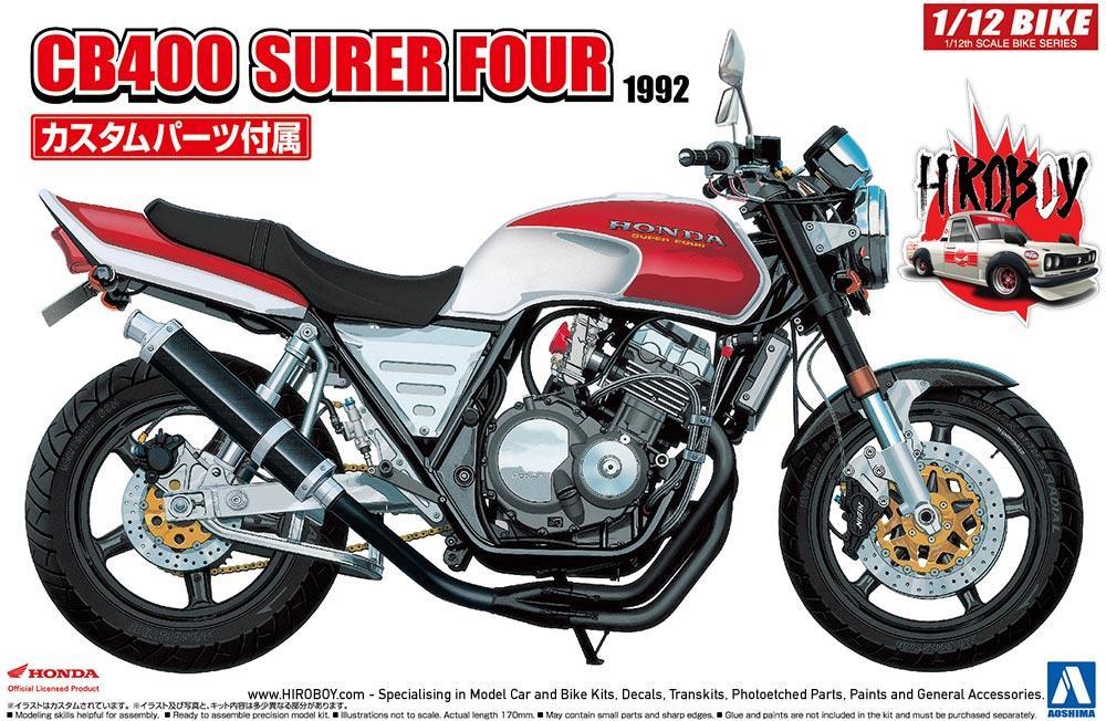 112 Honda CB400 Super Four 1992 C W Custom Parts