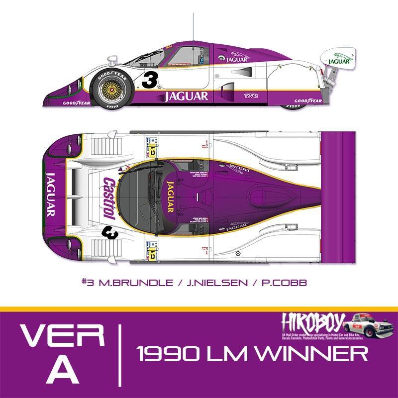 Jaguar xjr-12 24 H DAYTONA 1993 #3 1 of 16 autobarn 1:18 xjr-12-93-2dx