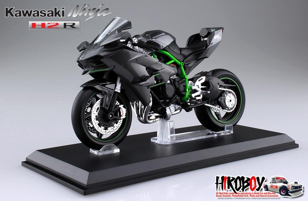 112 Kawasaki Ninja H2r Diecast Model Aoshima Aos 8310476
